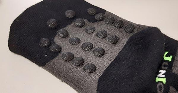 Ponožky protiskluz potisk
